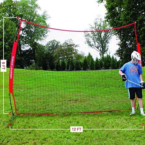Rukket 12x9ft Barricade Backstop Net, Indoor and Outdoor ...
